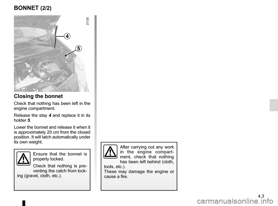 RENAULT KANGOO 2012 X61 / 2.G Owners Manual, Page 155