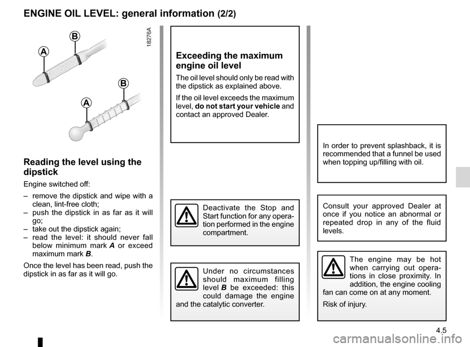 RENAULT KANGOO 2012 X61 / 2.G Owners Manual, Page 157