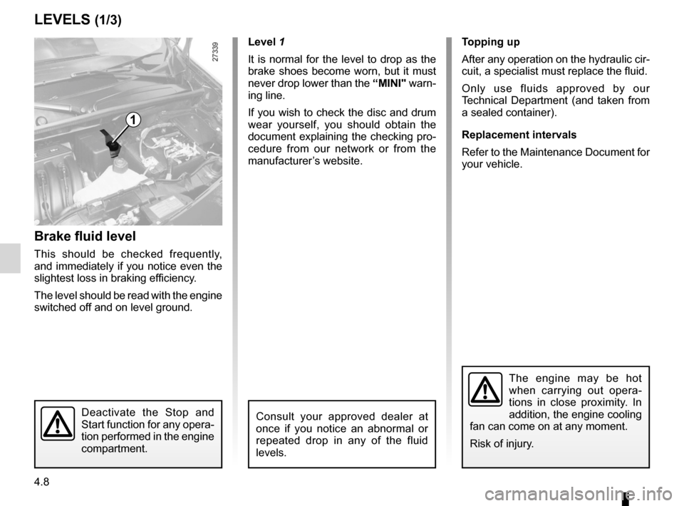 RENAULT KANGOO 2012 X61 / 2.G Owners Manual, Page 160