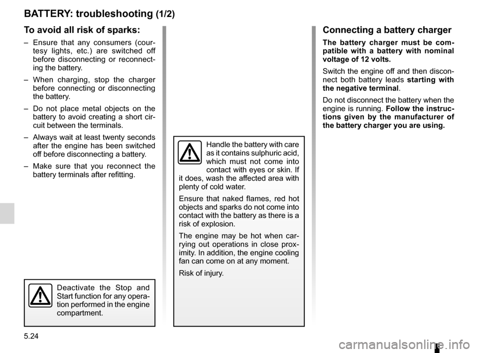 RENAULT KANGOO 2012 X61 / 2.G Owners Manual, Page 194