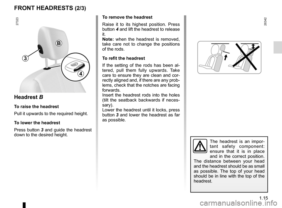 RENAULT KANGOO 2012 X61 / 2.G Owners Manual, Page 21