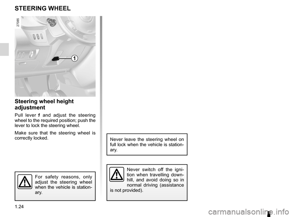 RENAULT KANGOO 2012 X61 / 2.G Owners Manual, Page 30
