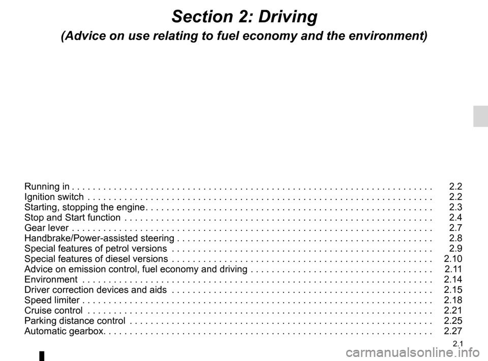 RENAULT KANGOO 2012 X61 / 2.G Owners Manual, Page 87