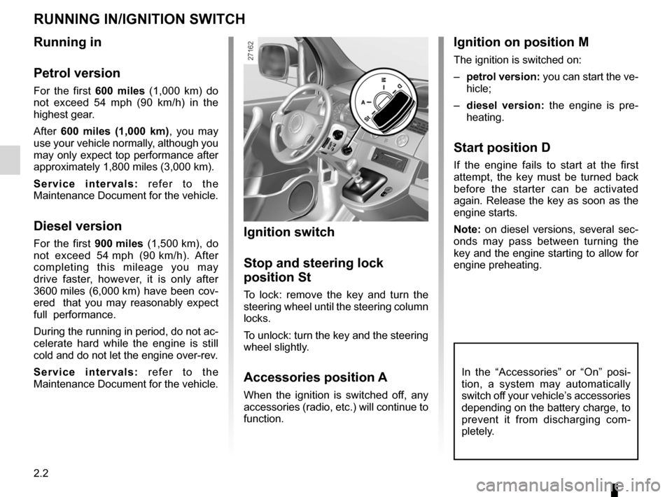 RENAULT KANGOO 2012 X61 / 2.G Owners Manual, Page 88