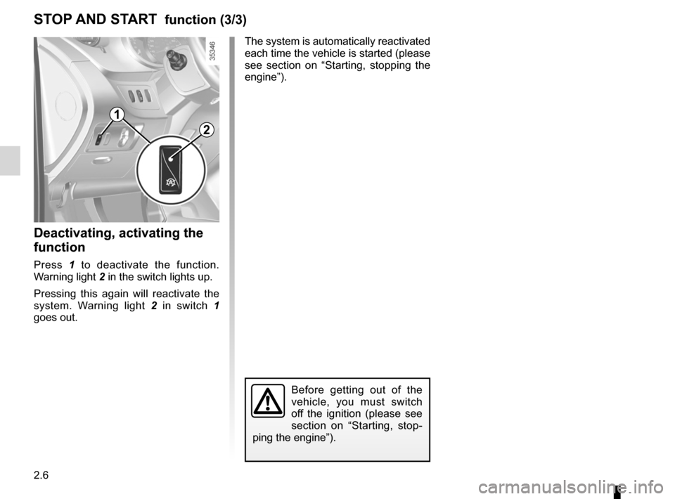 RENAULT KANGOO 2012 X61 / 2.G Owners Manual, Page 92