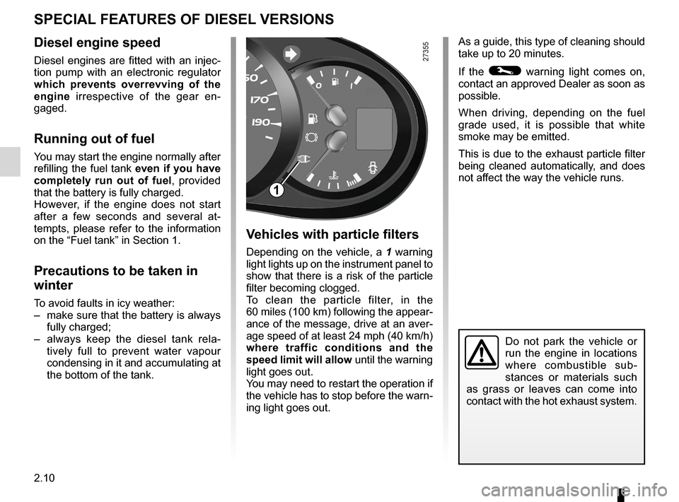 RENAULT KANGOO 2012 X61 / 2.G Owners Manual, Page 96