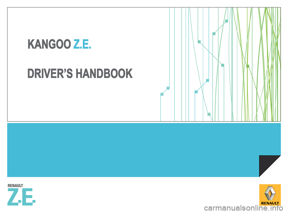 RENAULT KANGOO ZERO EMISSION 2012 X61 / 2.G Owners Manual, Page 1