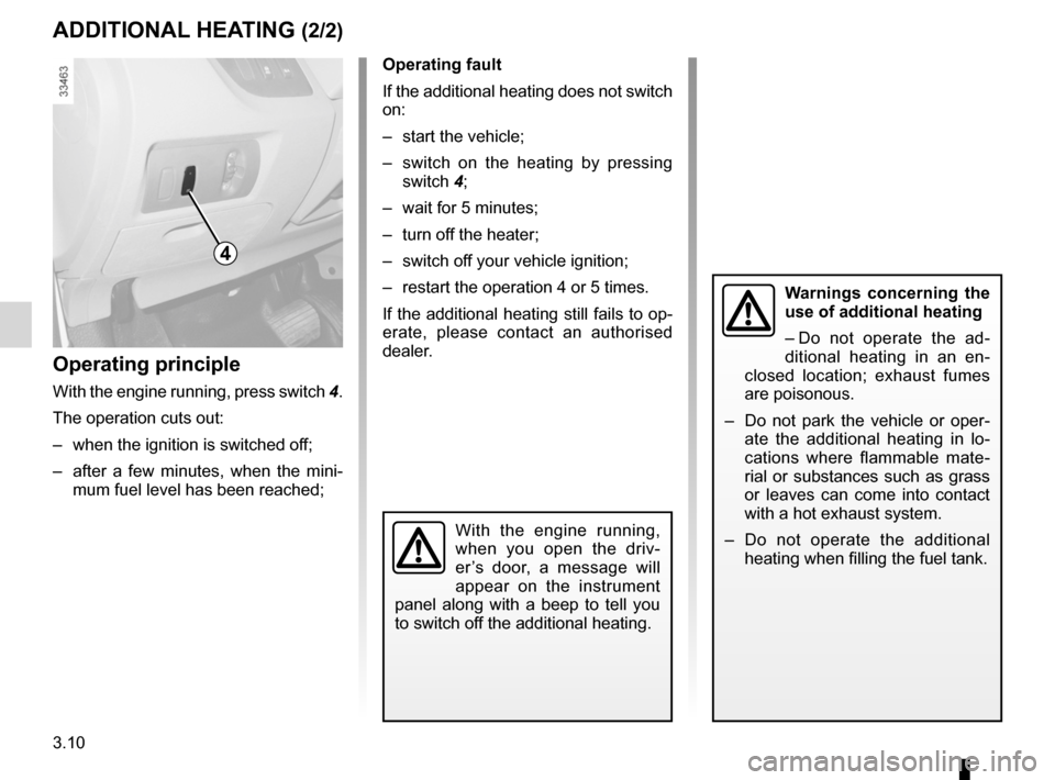 RENAULT KANGOO ZERO EMISSION 2012 X61 / 2.G Owners Manual, Page 121