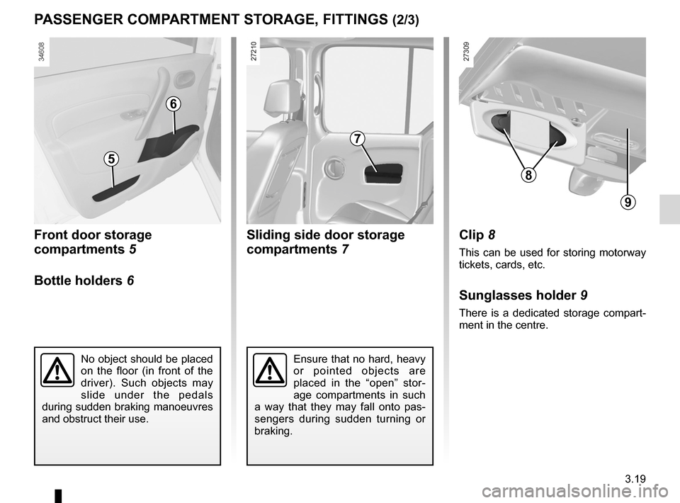 RENAULT KANGOO ZERO EMISSION 2012 X61 / 2.G Owners Manual, Page 130