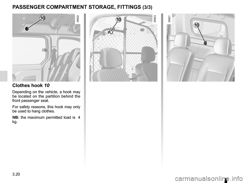 RENAULT KANGOO ZERO EMISSION 2012 X61 / 2.G Owners Manual, Page 131