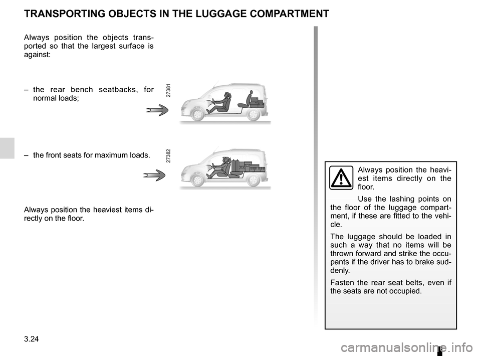 RENAULT KANGOO ZERO EMISSION 2012 X61 / 2.G Owners Manual, Page 135