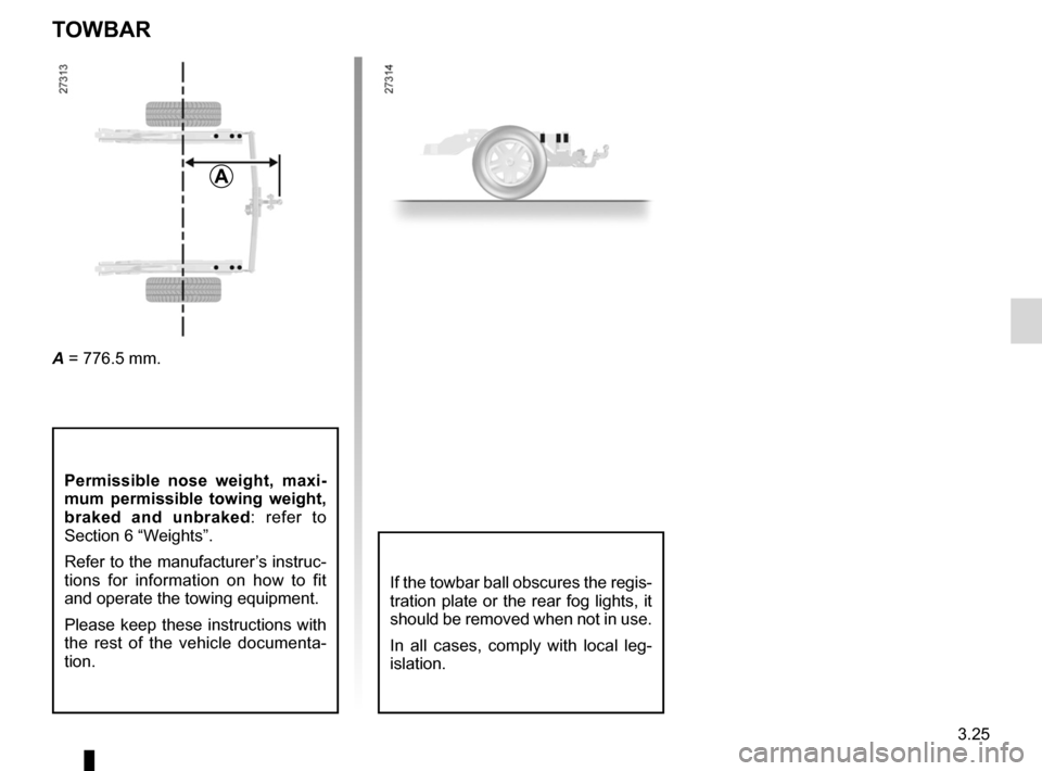RENAULT KANGOO ZERO EMISSION 2012 X61 / 2.G Owners Manual, Page 136