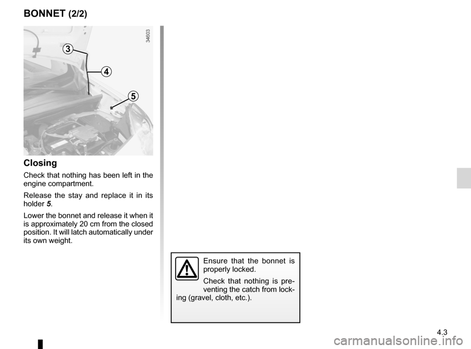 RENAULT KANGOO ZERO EMISSION 2012 X61 / 2.G Owners Manual, Page 140