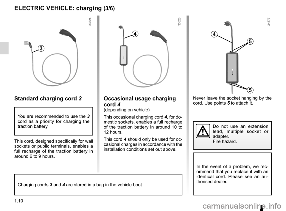 RENAULT KANGOO ZERO EMISSION 2012 X61 / 2.G Owners Manual, Page 15