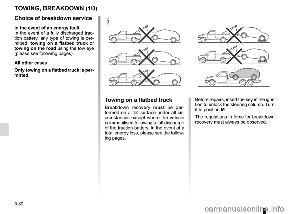 RENAULT KANGOO ZERO EMISSION 2012 X61 / 2.G Owners Manual, Page 179