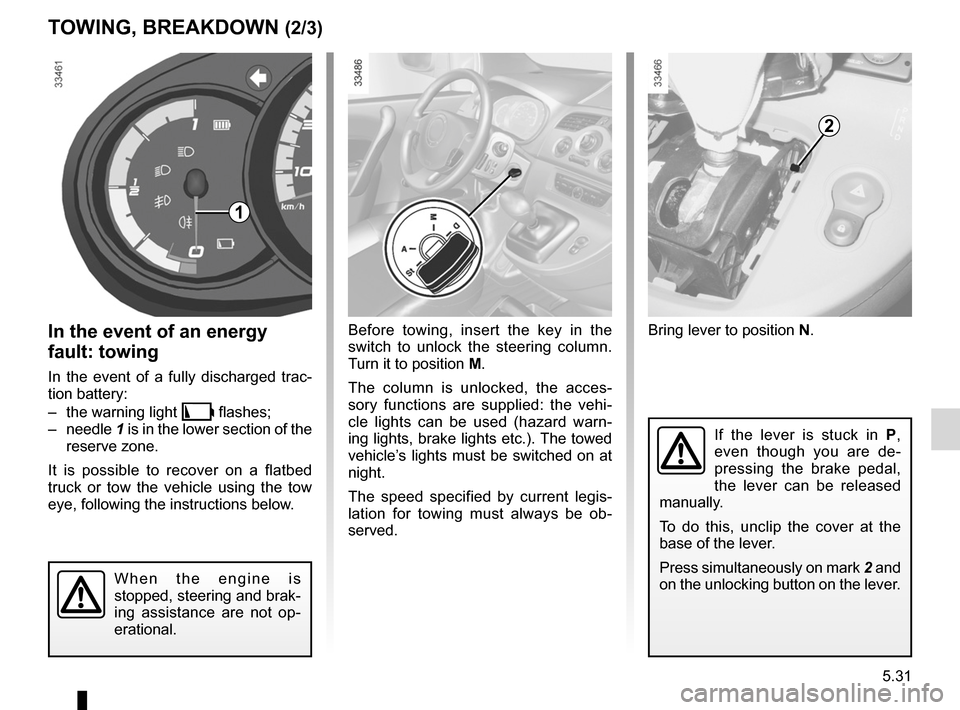 RENAULT KANGOO ZERO EMISSION 2012 X61 / 2.G Owners Manual, Page 180