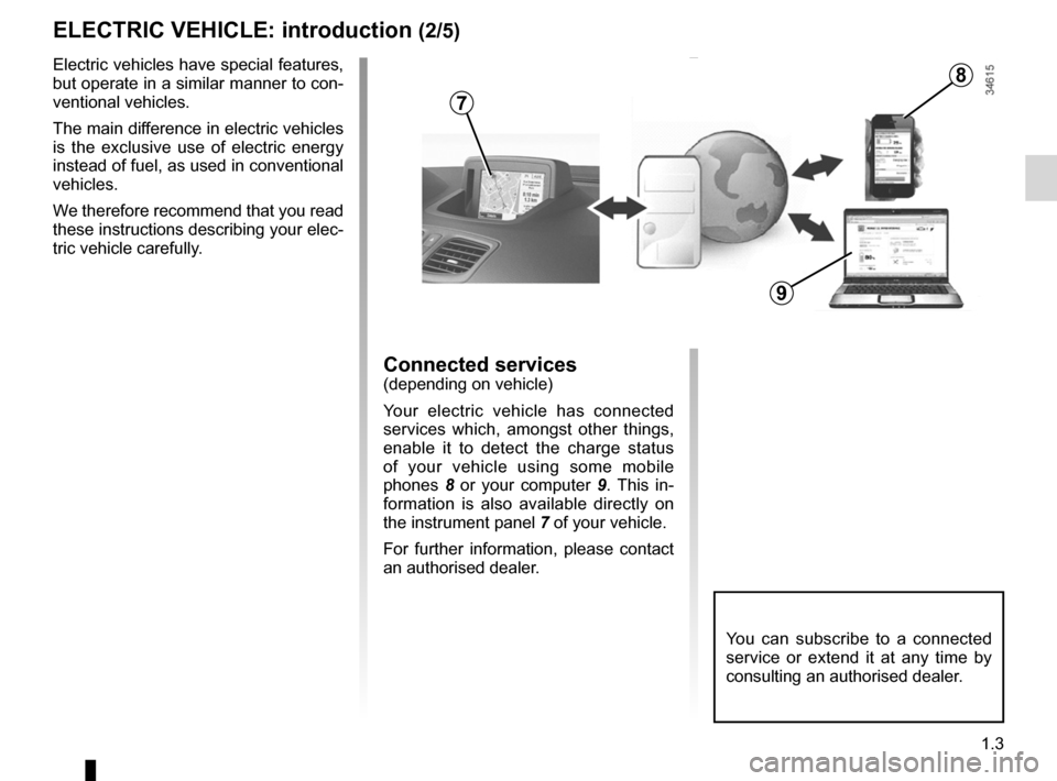 RENAULT KANGOO ZERO EMISSION 2012 X61 / 2.G Owners Manual, Page 8