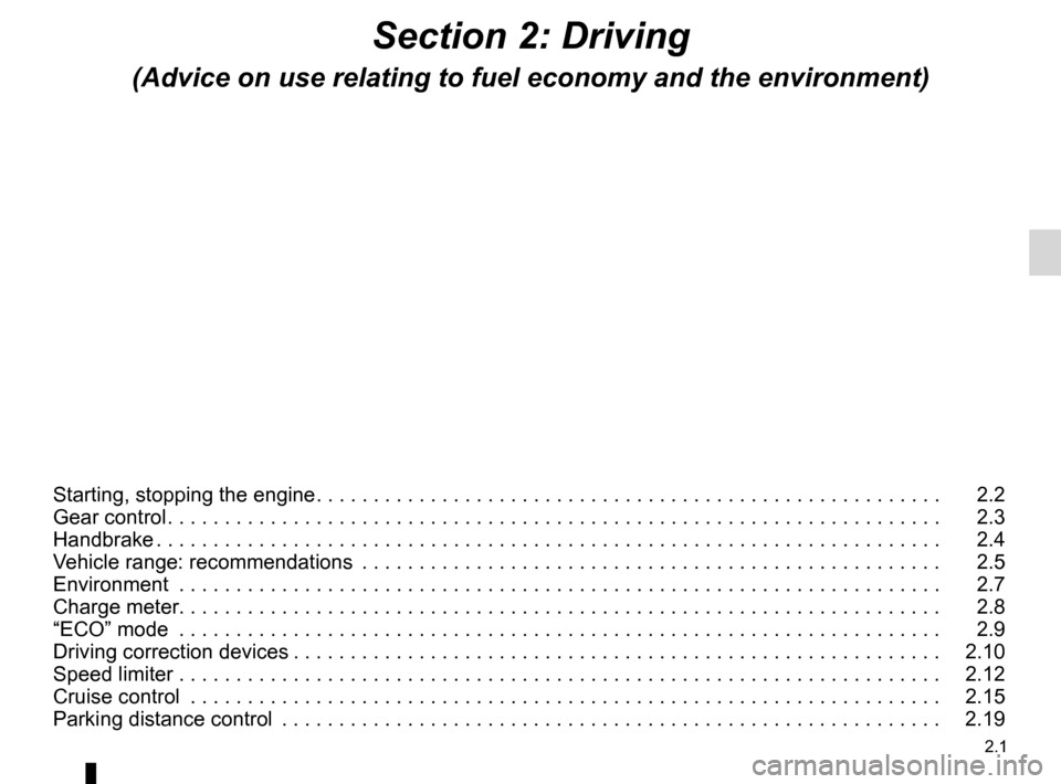 RENAULT KANGOO ZERO EMISSION 2012 X61 / 2.G Owners Manual, Page 92
