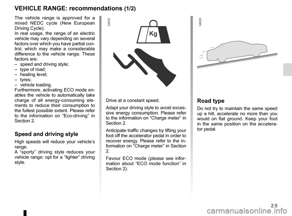 RENAULT KANGOO ZERO EMISSION 2012 X61 / 2.G Owners Manual, Page 96