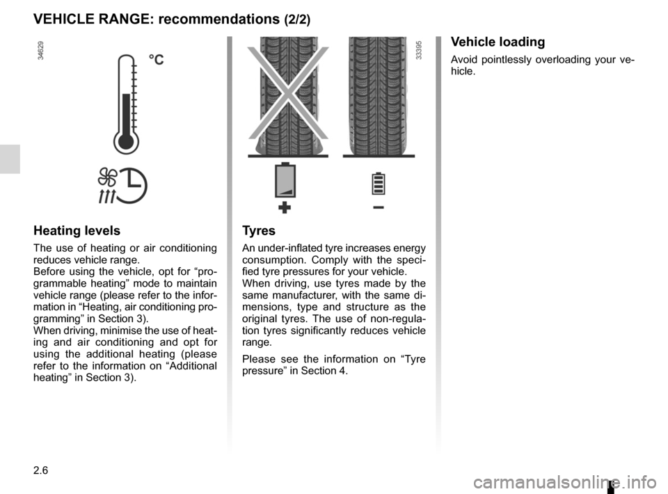 RENAULT KANGOO ZERO EMISSION 2012 X61 / 2.G Owners Manual, Page 97