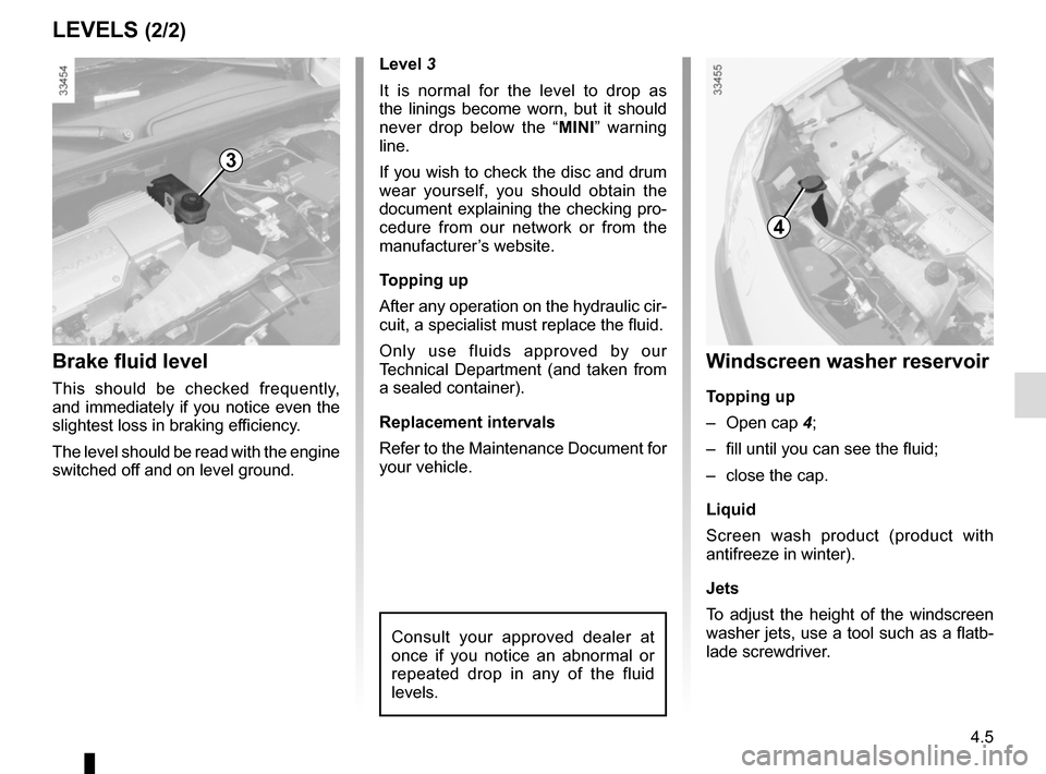 RENAULT KANGOO VAN ZERO EMISSION 2012 X61 / 2.G Owners Manual, Page 149