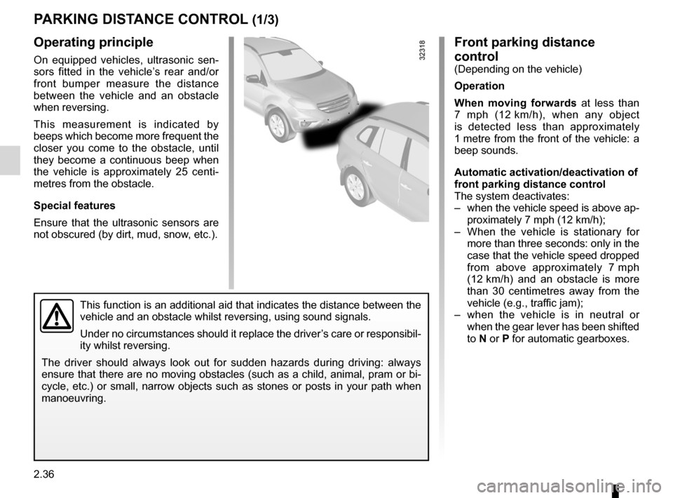 RENAULT KOLEOS 2012 1.G Owners Manual, Page 114