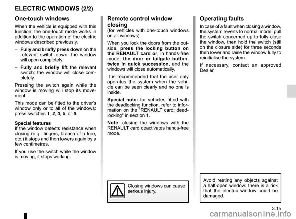RENAULT KOLEOS 2012 1.G Owners Manual, Page 135