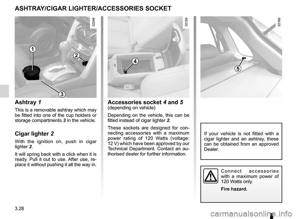 RENAULT KOLEOS 2012 1.G Owners Manual, Page 148