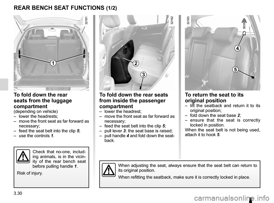 RENAULT KOLEOS 2012 1.G Owners Manual, Page 150