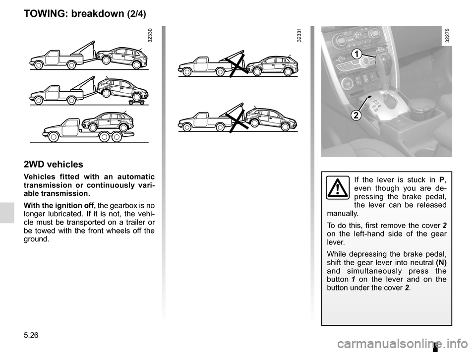 RENAULT KOLEOS 2012 1.G Owners Manual, Page 200