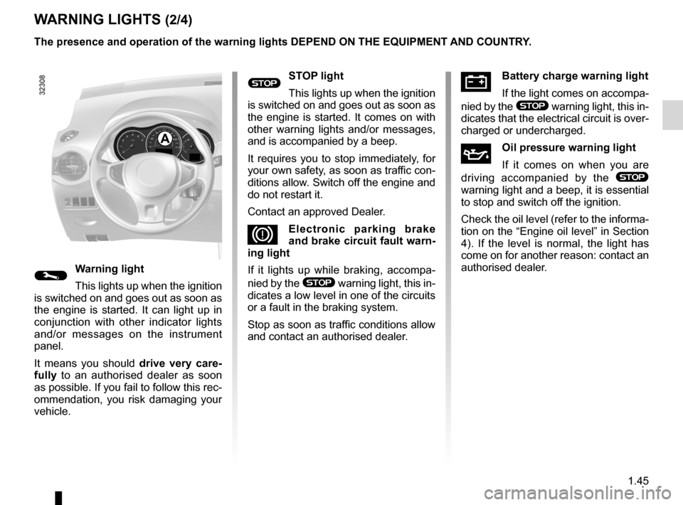 RENAULT KOLEOS 2012 1.G Owners Manual, Page 51