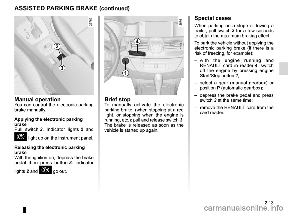 RENAULT LAGUNA COUPE 2012 X91 / 3.G Owners Manual, Page 91