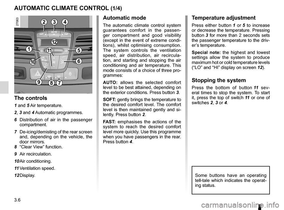 RENAULT LAGUNA 2012 X91 / 3.G Owners Manual, Page 128
