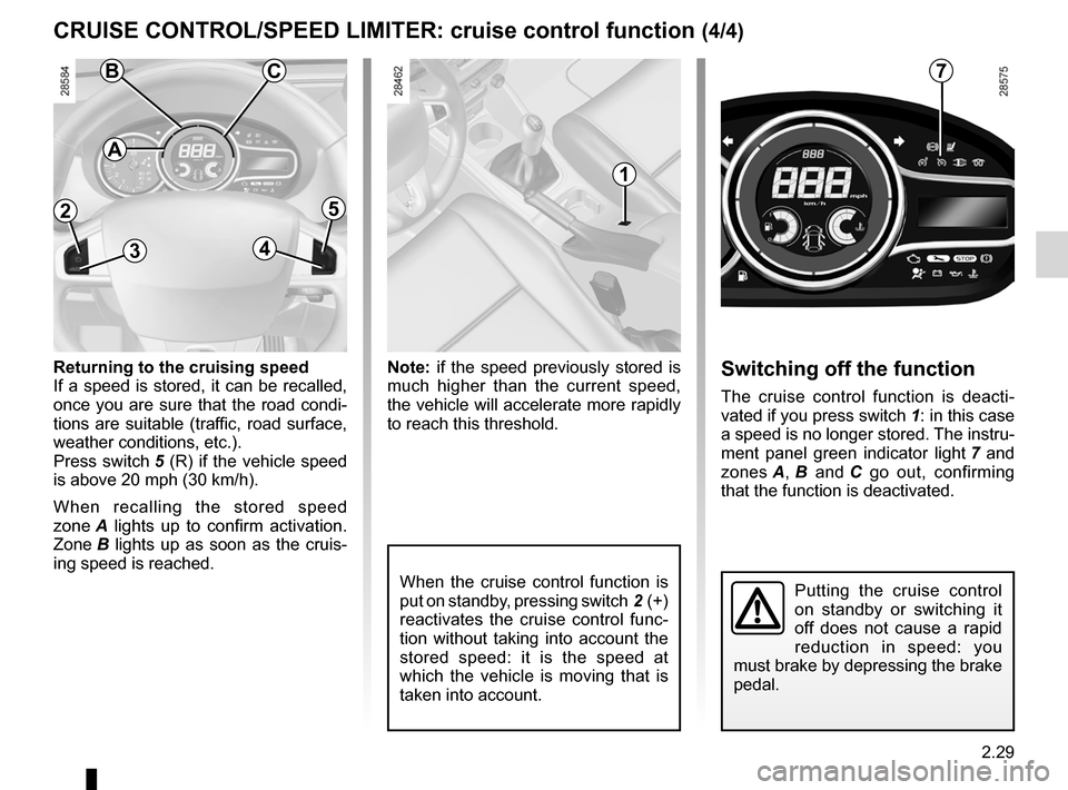 RENAULT MEGANE RS 2012 X95 / 3.G Owners Manual, Page 115