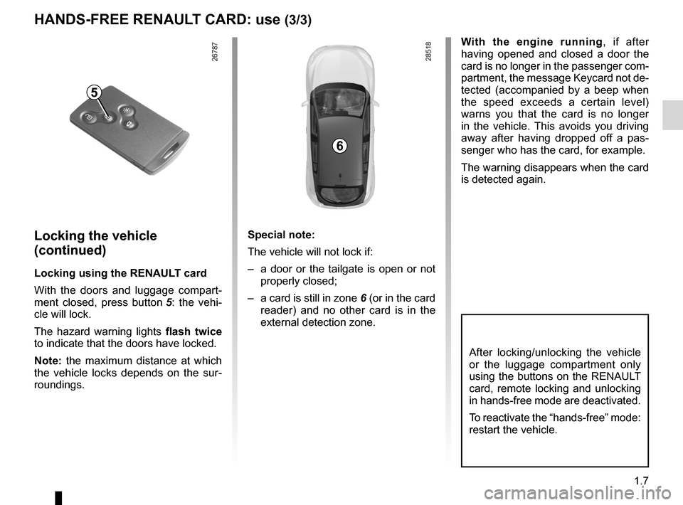 RENAULT MEGANE RS 2012 X95 / 3.G Owners Manual, Page 13