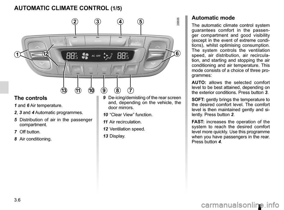 RENAULT MEGANE RS 2012 X95 / 3.G Owners Manual, Page 128
