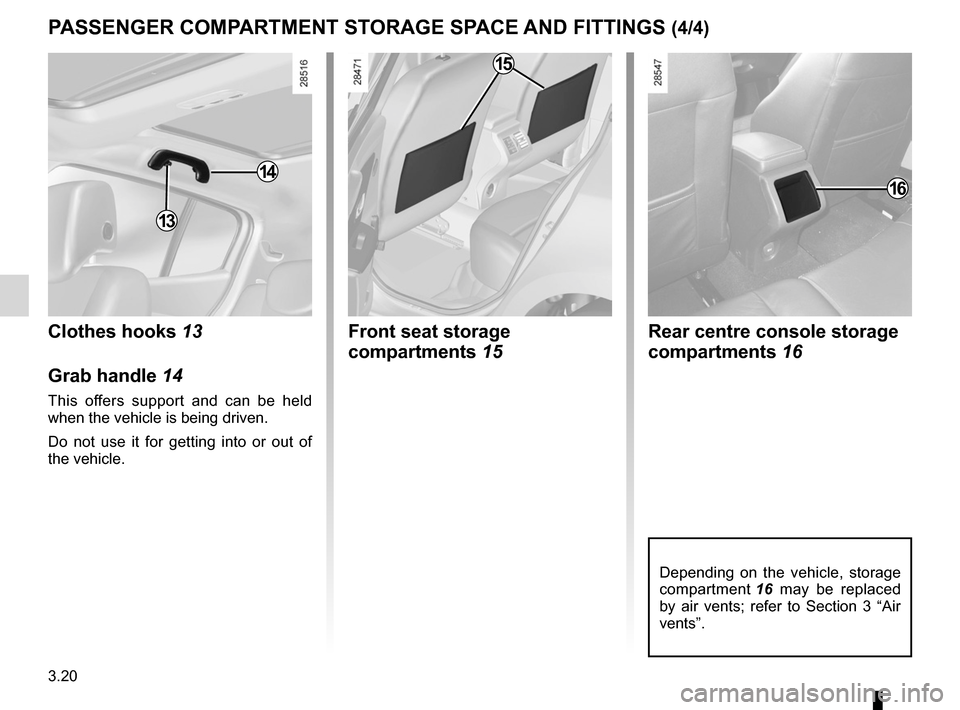 RENAULT MEGANE RS 2012 X95 / 3.G Owners Manual, Page 142