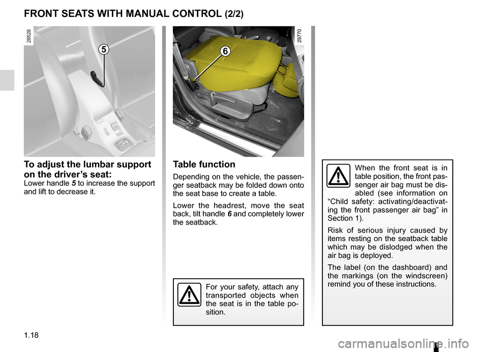 RENAULT MEGANE RS 2012 X95 / 3.G Owners Manual, Page 24