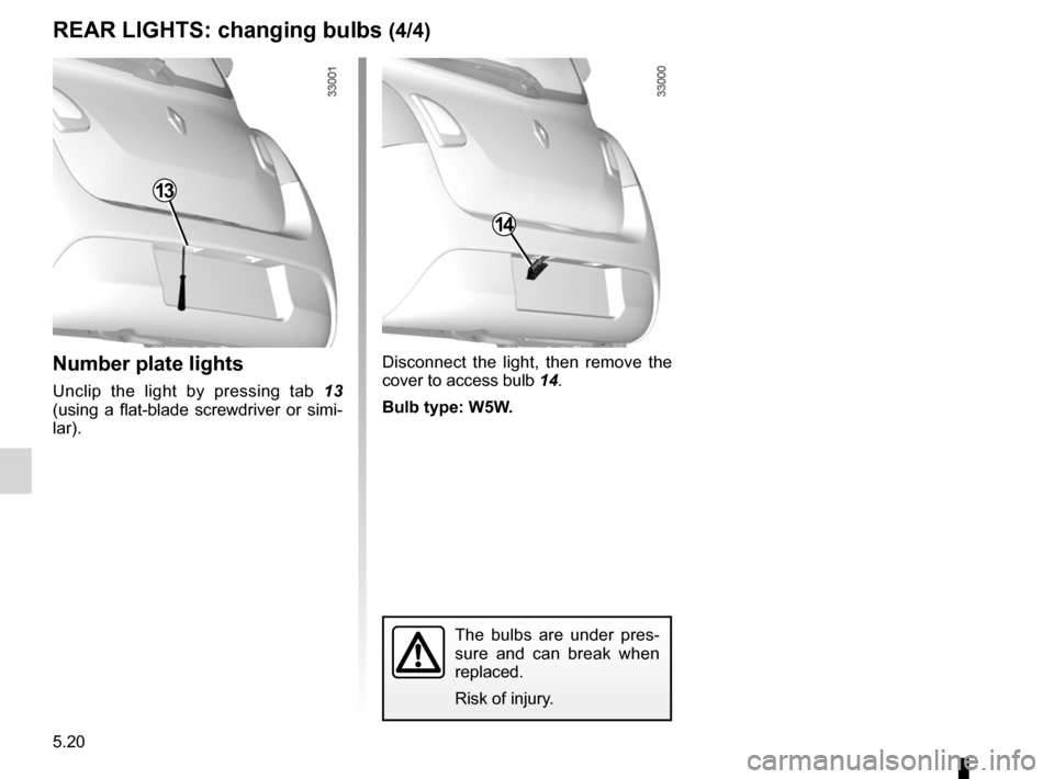RENAULT TWINGO 2012 2.G Owners Manual, Page 174