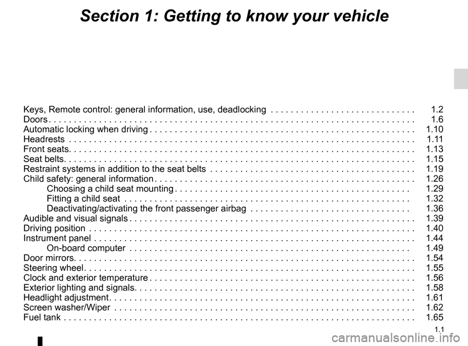 RENAULT TWINGO 2012 2.G Owners Manual, Page 7
