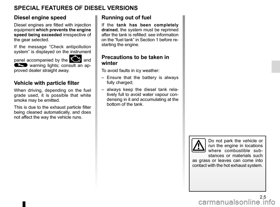 RENAULT TWINGO 2012 2.G Owners Manual, Page 77