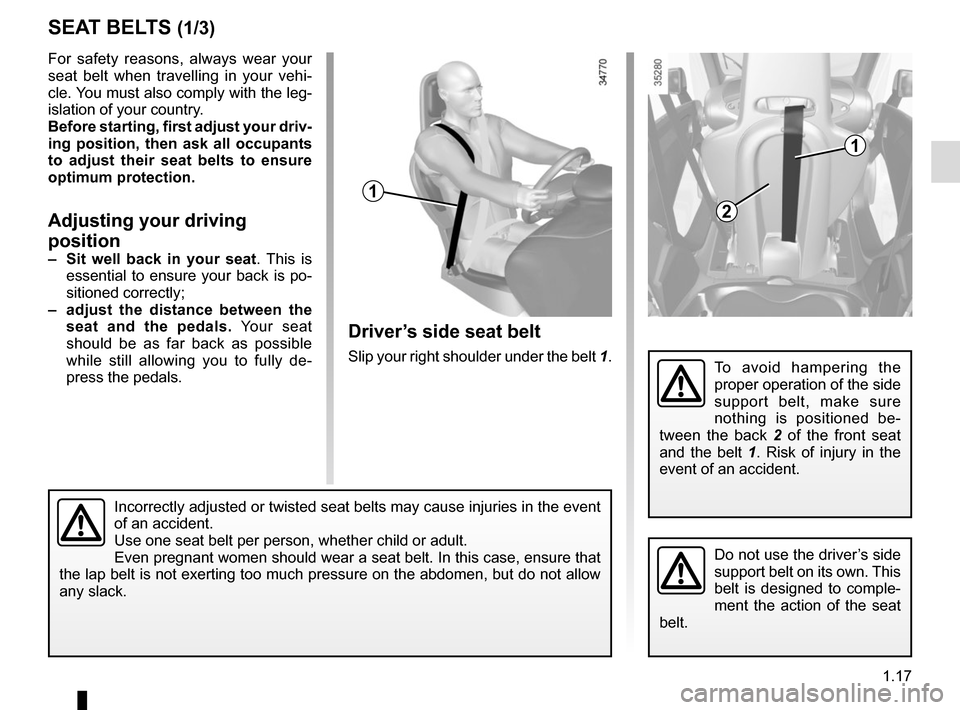 RENAULT TWIZY 2012 1.G Owners Manual, Page 23