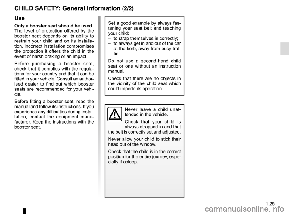 RENAULT TWIZY 2012 1.G Owners Manual, Page 31