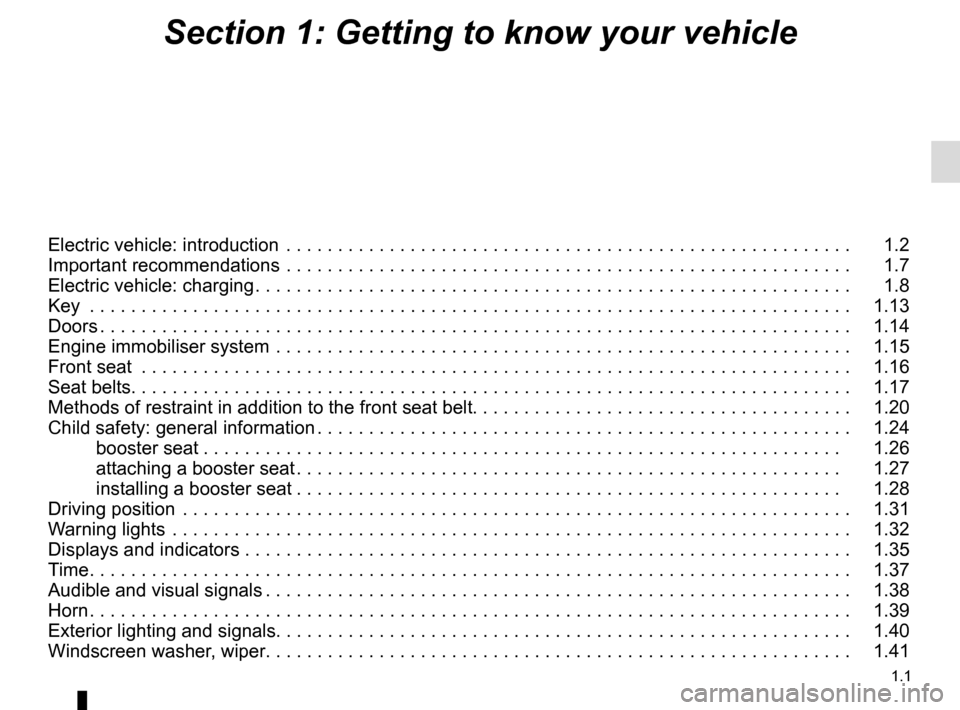 RENAULT TWIZY 2012 1.G Owners Manual, Page 7