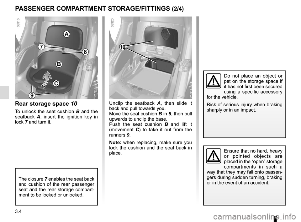 RENAULT TWIZY 2012 1.G Owners Manual, Page 62