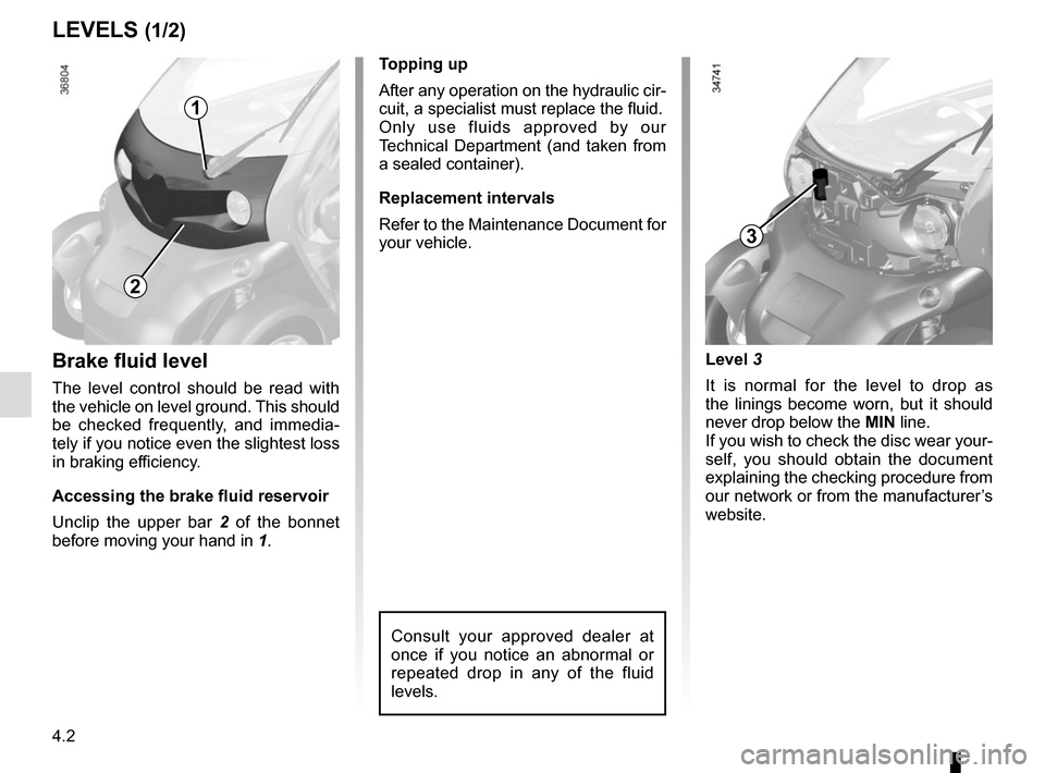RENAULT TWIZY 2012 1.G Owners Manual, Page 66