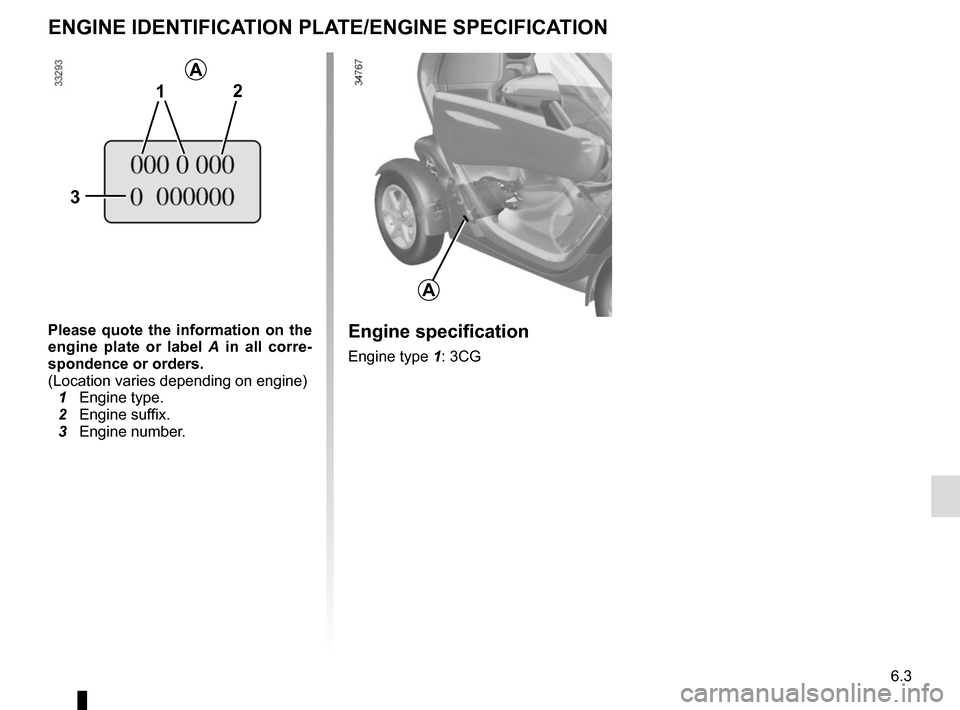 RENAULT TWIZY 2012 1.G Owners Manual, Page 97