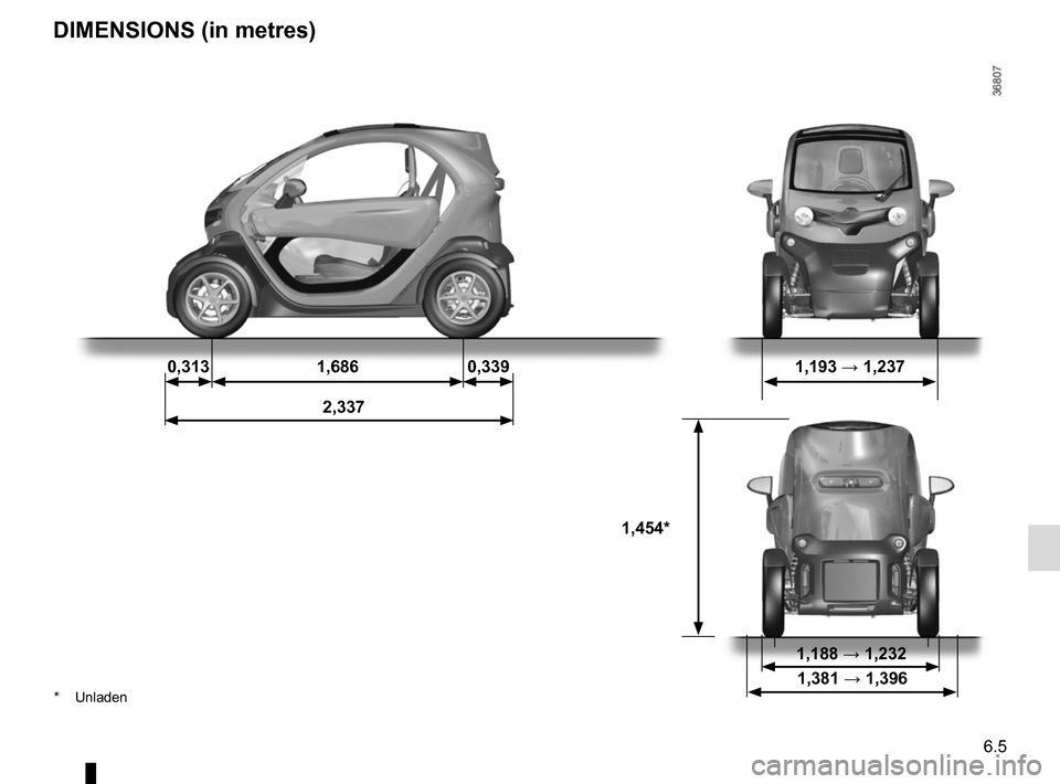 RENAULT TWIZY 2012 1.G Owners Manual, Page 99