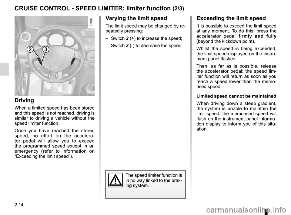 RENAULT WIND 2012 1.G Owners Manual, Page 78
