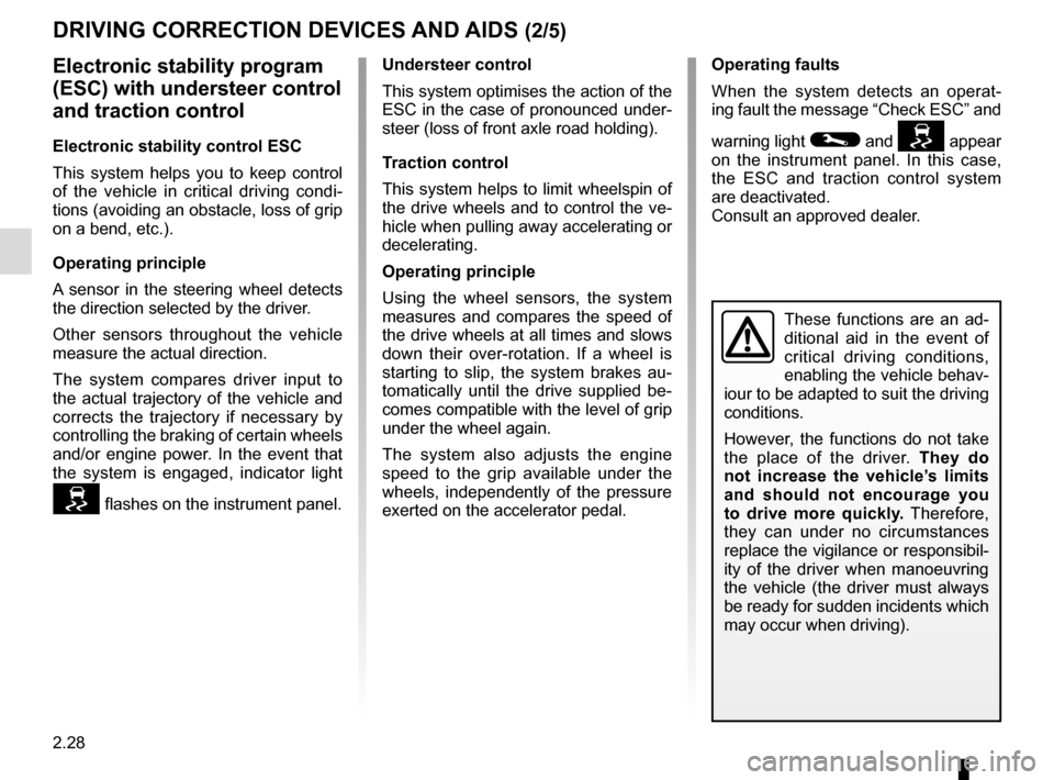 RENAULT CAPTUR 2014 1.G Owners Manual, Page 108